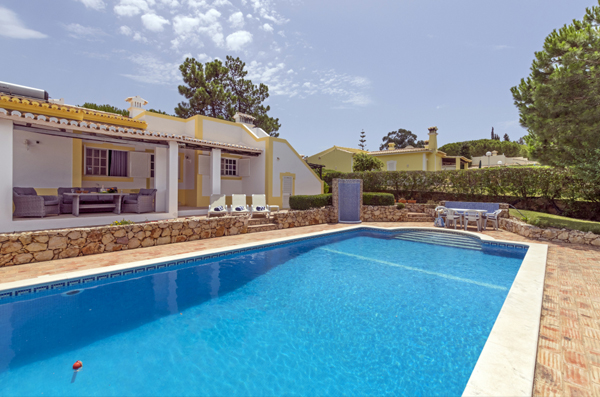 Pool in one of our detached villas